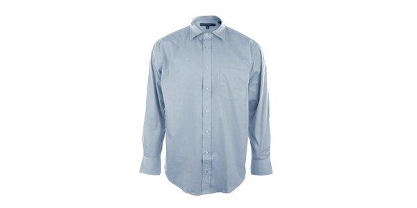 Pánská světle modrá košile Perry Ellis