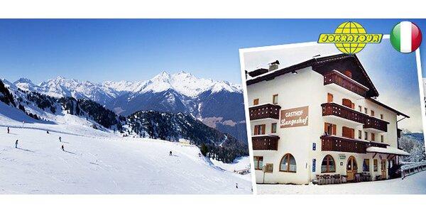 Lyžovačka v Itálii. Val di Fiemme - Obereggen