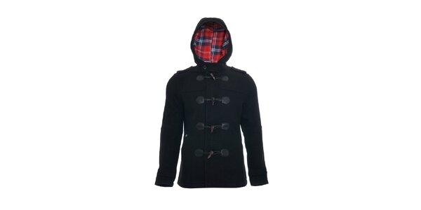 Černý pánský casual kabát značky Lois