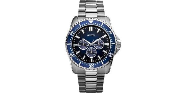 Pánské ocelové hodinky Guess