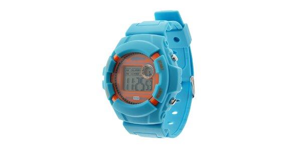 Pánské světle modré digitální hodinky Oxbow
