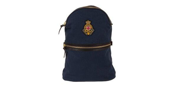 Pánský tmavě modrý batoh Hackett London