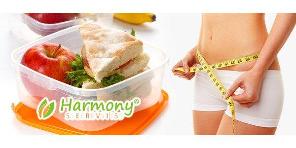 10 dní s kvalitní krabičkovou dietou Harmony Servis