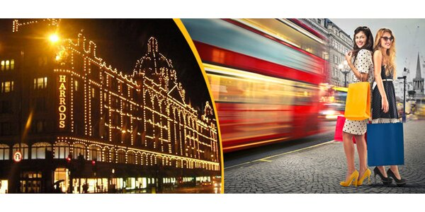 Povánoční výprodeje v Londýně
