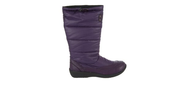 Dámské fialové zimní boty Praylas