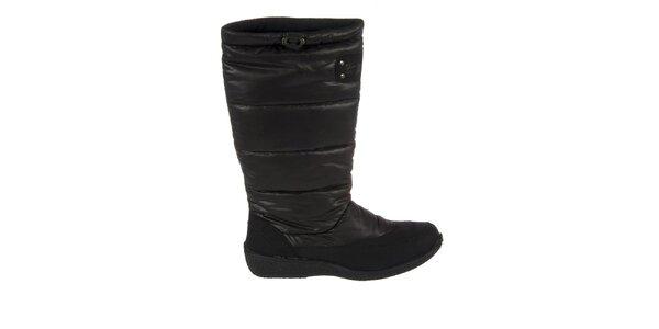 Dámské černé zimní boty Praylas