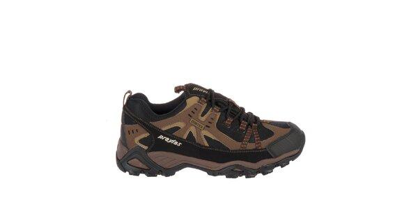 Pánská hnědá outdoorová obuv Praylas