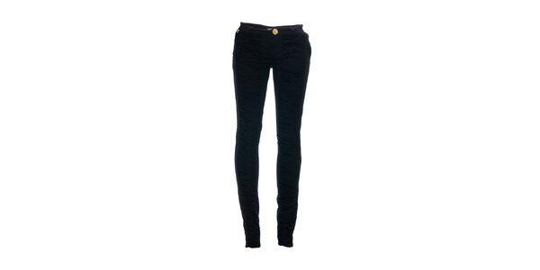 Dámské skinny džíny značky Lois s řasenými nohavicemi