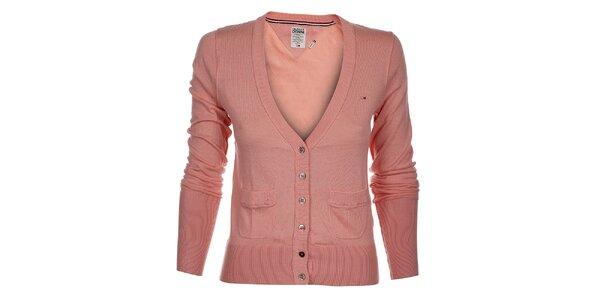 Dámský růžový svetřík Tommy Hilfiger