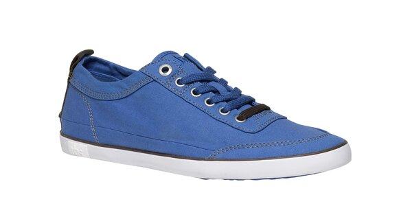 Pánské zářivě modré textilní tenisky TBS