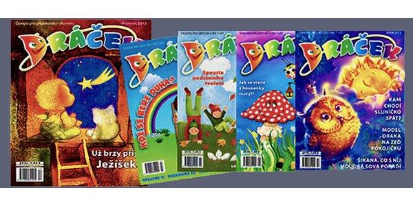 Předplatné dětského časopisu Dráček