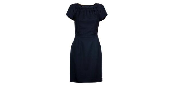 Dámské tmavě modré šaty Tommy Hilfiger