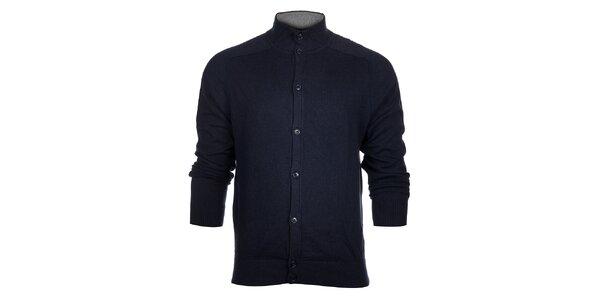 Pánský tmavě modrý svetr Tommy Hilfiger