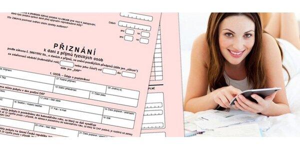 650 Kč za balíček účetnických a daňových služeb v hodnotě 1300 Kč.