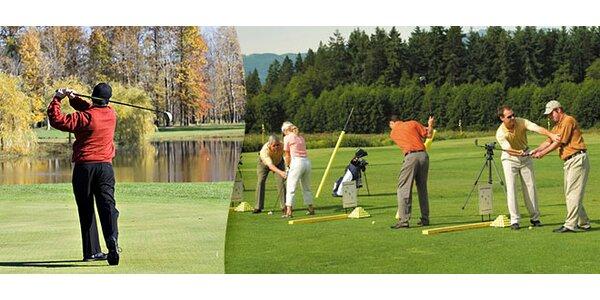 Individuální golfové lekce nejen pro začátečníky