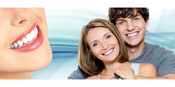 Účinné kosmetické bělení zubů