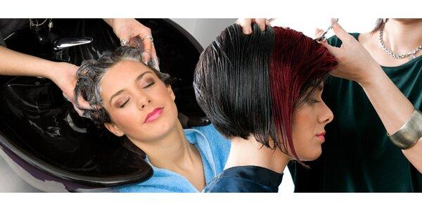 Stříhání vlasů nebo melír - pro různé délky