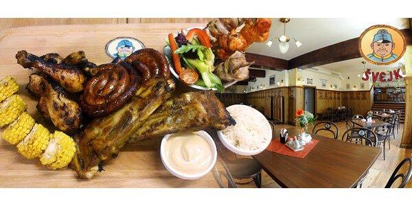 2 kg řízků, panenky i žebírek s pečivem u Švejka