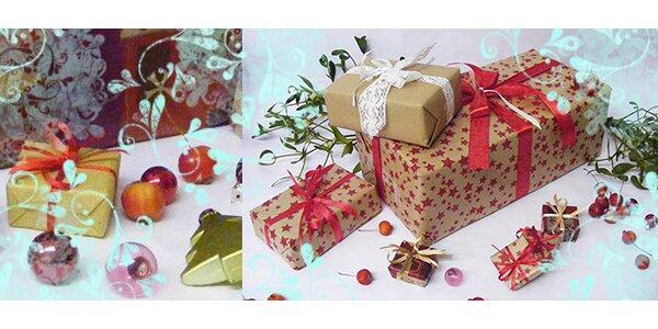 Balení vašich vánočních dárků