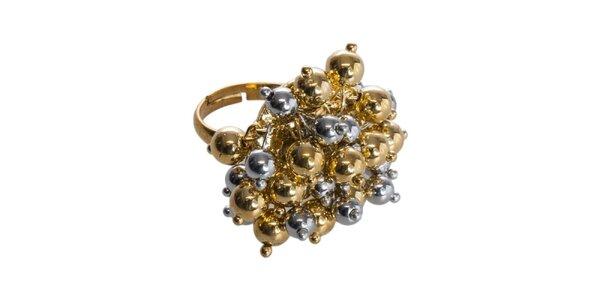 Dámský dvoubarevný prsten Esprit