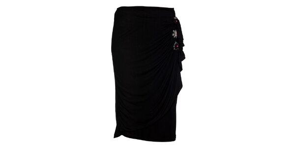 Dámská černá pouzdrová sukně Uttam Boutique