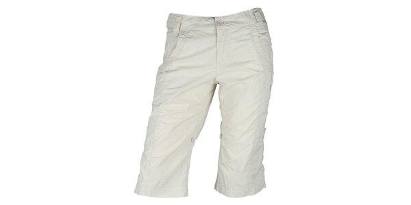 Dámské béžové 3/4 kalhoty Authority