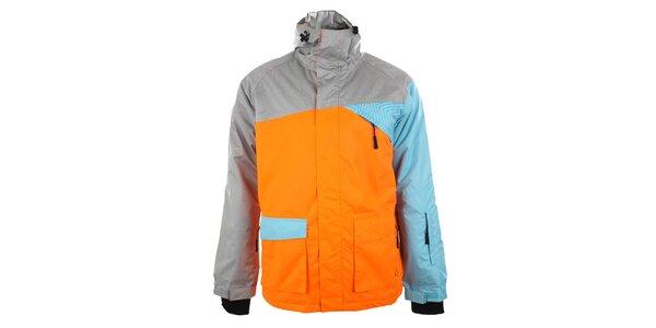 Pánská neonově oranžová bunda Authority