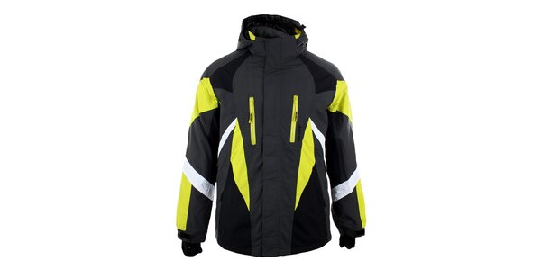 Pánská zimní bunda Authority s neonovými detaily
