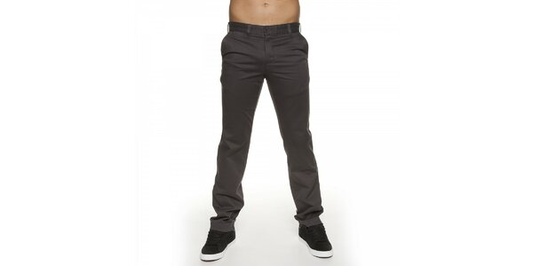 Pánské tmavě šedé kalhoty Lois