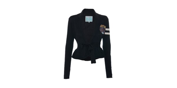 Dámský svetřík značky Lois v černé barvě