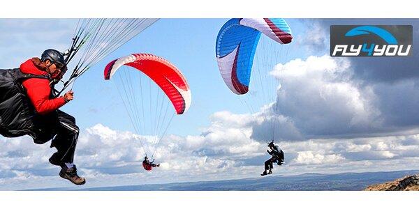 Zážitkový dárek - tandemový paragliding