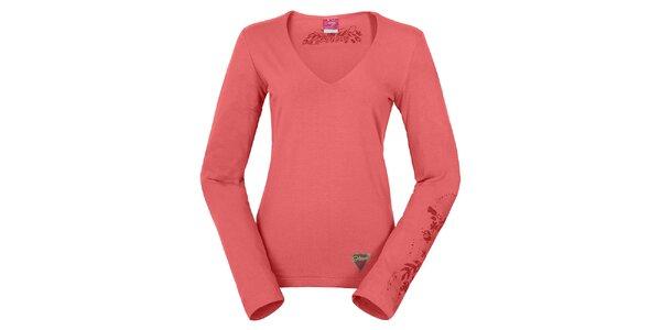 Dámské růžové tričko Hannah