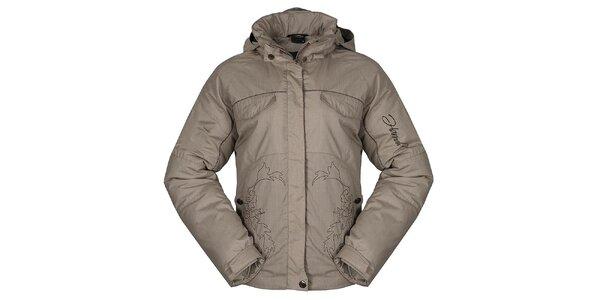 Dámská béžová zimní bunda Hannah
