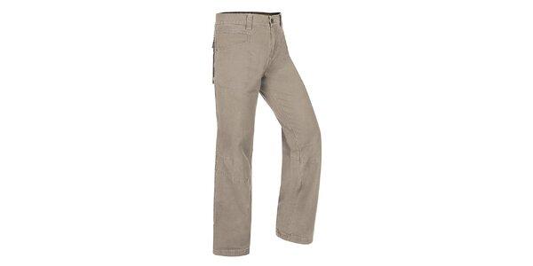 Pánské světle šedé kalhoty Hannah