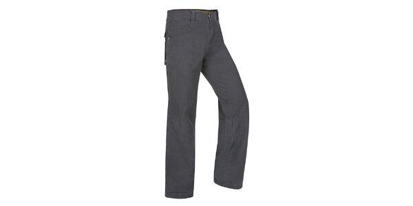 Pánské tmavě šedé kalhoty Hannah