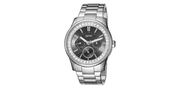 Dámské stříbrně tónované analogové hodinky Esprit