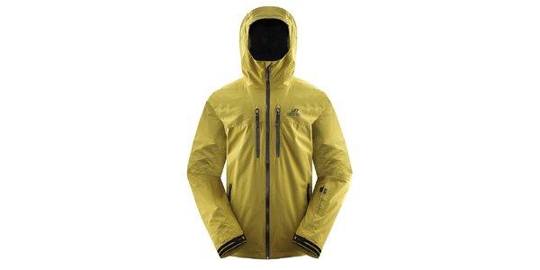 Pánská žluto-zelená bunda Hannah
