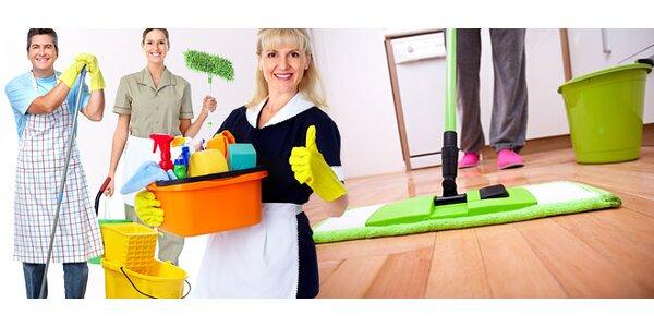 Kompletní úklid celého bytu či domu