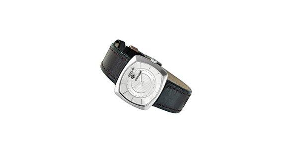 Dámské analogové hodinky s černým páskem Replay