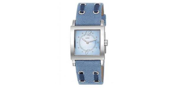 Dámské náramkové hodinky EDC by Esprit v modré barvě