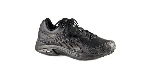 Dámské černé kožené tenisky Reebook