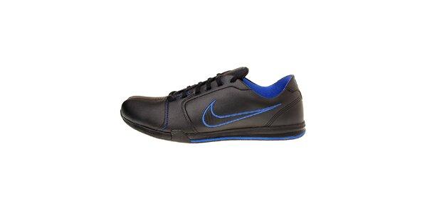 Pánské černé tenisky Nike Circuit s modrými detaily