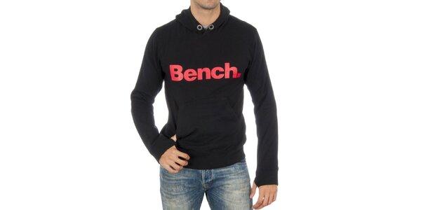 Pánská černá mikina Bench