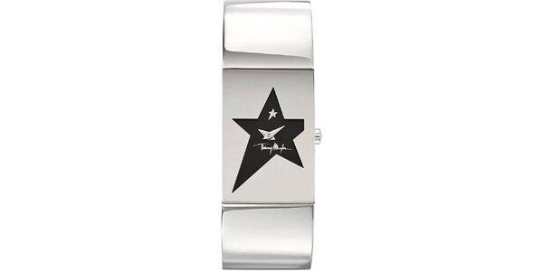 Dámské originální hodinky z nerezové oceli Thierry Mugler