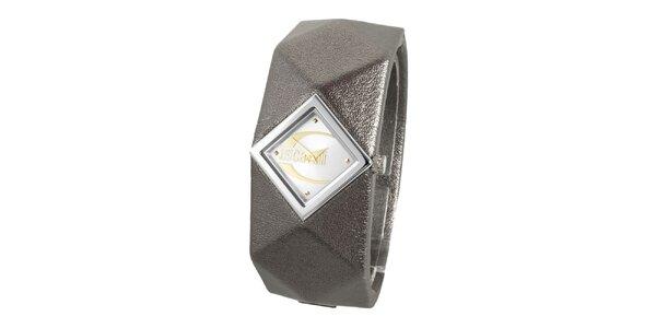 Dámské ocelové náramkové hodinky Just Cavalli s pyramidkami