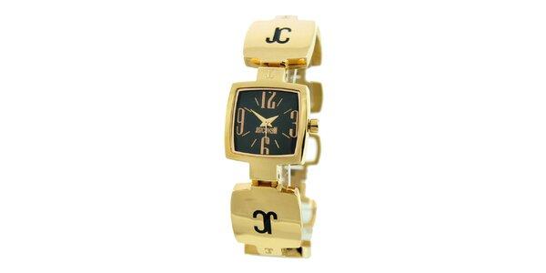 Dámské ocelové náramkové hodinky Just Cavalli ve zlaté barvě