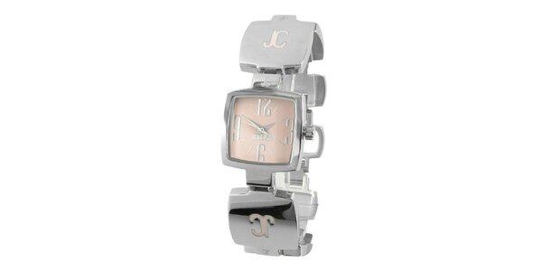 Dámské ocelové náramkové hodinky Just Cavalli s hranatým ciferníkem