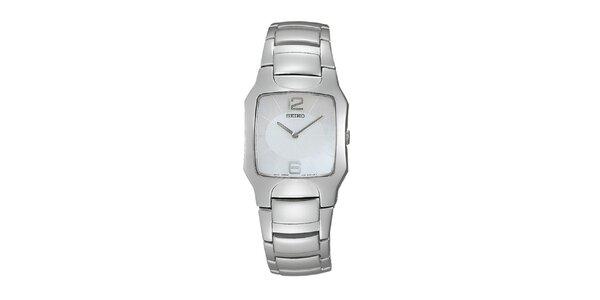 Dámské ocelové hodinky Seiko