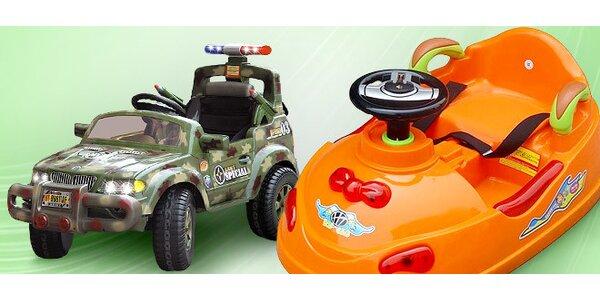 Elektrická autíčka pro děti do sedmi let