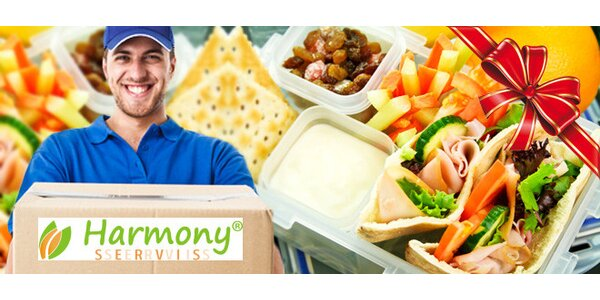 Krabičková dieta Harmony Servis na 10 dní s dopravou